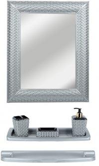 Набор для ванной VIOLET HOUSE Роттанг Metallik 0543