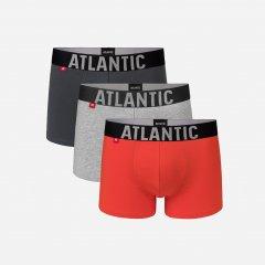 Трусы-шорты Atlantic 3SMH-003 M 3 шт KHA/SZM/POM (5903351335409)