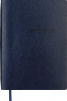 Ежедневник датированный Buromax Ideal A5 на 336 страниц Синий (BM.2175-02)