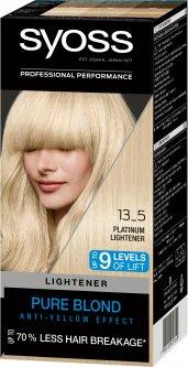 Стойкая краска для волос SYOSS 13-5 Платиновый Осветлитель 135 мл (9000100929820)