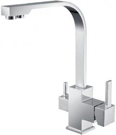 Смеситель кухонный c подключением к фильтру ASIGNATURA Flat 80544600
