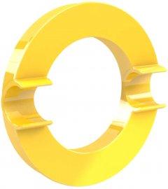 Магнит Dahle Mega Circle Ø80 мм Желтый (4009729068014)