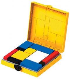 Головоломка Eureka 3D Puzzle Блоки Мондриана Желтая (473554) (5425004735546)
