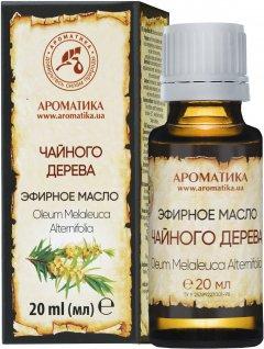 Масло эфирное Ароматика Чайного дерева 20 мл (4820031051200)