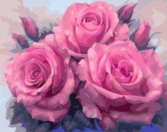 Картина по номерам Bookopt Изысканные розы 50х40 см (bk_1118) (2252520881012)