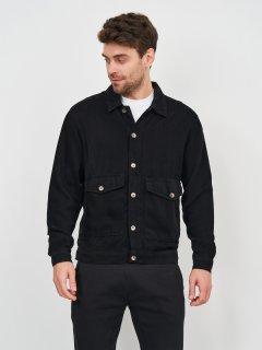 Джинсовая куртка Zara 5252/353/800 M Черная (05252353800034)