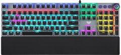 Клавиатура проводная Aula Fireshock V5 Mechanical Wired Keyboard Red Switch USB (6948391240602)
