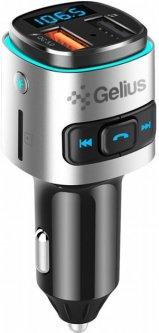 FM-трансмиттер Gelius Pro RGB-QC GP-FMT040 Black/Silver (2099900784835)