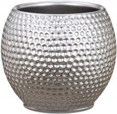 """Кашпо для цветов Scheurich Mercury 18"""" керамика Серебристый (4002477622217)"""