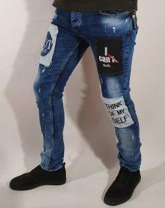 Джинси чоловічі Xway 6009 29 Синій