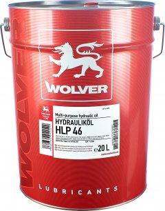 Гидравлическое масло Wolver Hydrauliköl HLP 46 20 л (4260360942129)