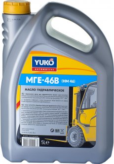 Гидравлическое масло Yuko МГЕ-46В HM 46 5 л (4820070241983)
