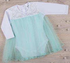 Боди-платье BetiS Нежность 27082295 62 см Ментоловое (2950900162286)