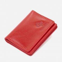 Обложка для документов кожаная Grande Pelle leather-11493 Красная