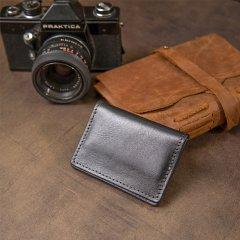 Обложка для документов кожаная Grande Pelle leather-11495 Черная