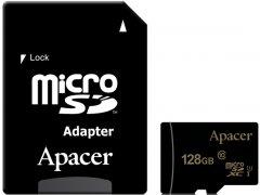 Apacer microSDXC 128GB UHS-I U1 + SD adapter (AP128GMCSX10U5-R)