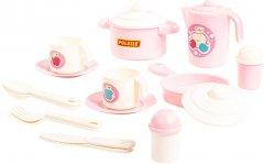 Набор детской посуды Polesie (Полесье) Настенька на 2 персоны 18 элементов (4810344079985)