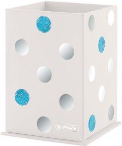 Подставка для ручек Herlitz Frozen Glam 10х6.5х6.5 см картон (50027453)