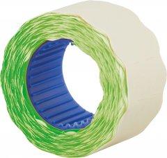Этикет-лента Economix 26 x 12 мм 500 шт/уп 10 рул. Зеленая (E21304-04)