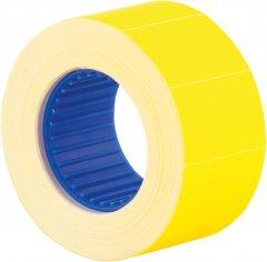 Этикет-лента Economix 26 x 16 мм 500 шт/уп 10 рул. Желтая (E21305-05)