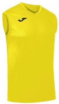 Футбольная майка Joma Combi Basket XS Желтая (100436.900_XS)