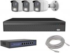 Комплект IP-видеонаблюдения Covi Security IPC-3W 2MP KIT