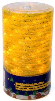 Светодиодная гирлянда Маг2000 рыбки уличная 80 ламп 10 м Желтый (5102681040759)