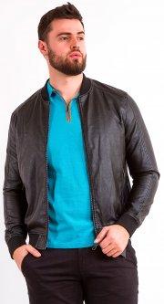 Куртка из искусственной кожи Remix 7831 2XL Черная (2950006250825)