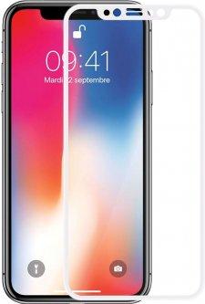 Защитное стекло Baseus Silk-Screen Anti-Blue Light для Apple iPhone X White (SGAPIPHX-GES02)