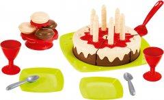 Набор посуды Ecoiffier Happy Birthday с тортом и аксессуарами (2513) (3280250025139)