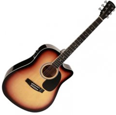 Гитара электроакустическая Nashville GSD-60-CESB (17-5-40-1)