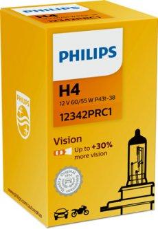 Автолампа Philips H4 12V 60/55W (PS 12342 PR C1)