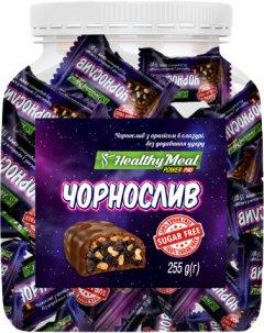 Конфеты PowerPro Healthy Meal без сахара 225 г Чернослив и арахис в шоколаде (4820231511009)