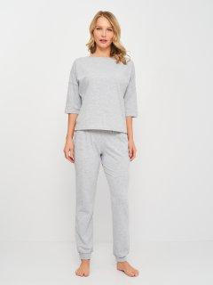 Комплект (лонгслив + штаны) КОШКА Домашний KVV3004-9 M Серый (2900000126763)