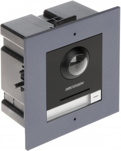 Панель вызова Hikvision + врезная рамка (DS-KD8003-IME1/FLUSH)