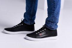 Чоловічі кеди Maya Shoes 203-2 Чорні 43р
