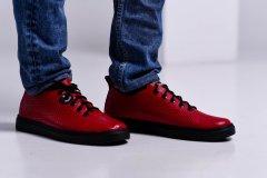 Чоловічі кеди Maya Shoes 203-5 Червоні 40р
