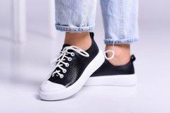 Кеди Maya Shoes 2485 Чорний з білим 39р