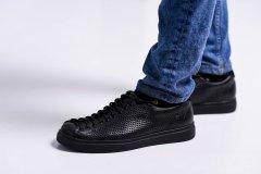 Чоловічі кеди Maya Shoes 204-5 Чорні 40р