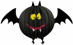 Декор подвесной бумажный 3D Yes! Fun Хэллоуин Летучая мышь 20 см (973636)