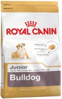 Сухой корм Royal Canin Bulldog Junior для щенков английскийбульдог 12 кг (767843671)
