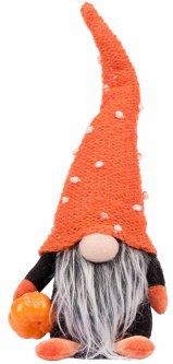 Мягкая игрушка Yes! Fun Хэллоуин Гном с тыквой 29 см (973736)