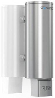 Дозатор для жидкого мыла GENWEC GW04 06 04 01 хром матовый