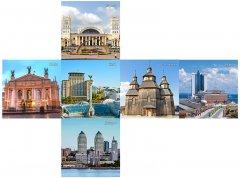 Брендовый кубик 3х3 V-CUBE Ukraine Города Украины (5206457003204)