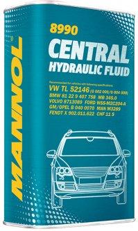 Жидкость ГУР Mannol Central Hydraulik Fluid 1 л metall (301/3)