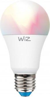 Умная лампочка WIZ Smart LED WiFi A60 E27 WiZ60 TR F Color & White 810lm 2200K-6500K 9W (WZE20026081)