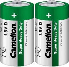 Батарейка Camelion R20 / 2 Shrink Green 2 шт (R20P-SP2G)