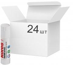Набор клея-карандаш Kores Сухой Прозрачный 20 г 24 шт (K17203)