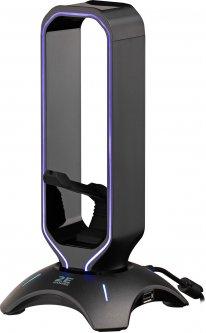 Подставка 3в1 для гарнитуры 2E Gaming Headset Stand RGB USB Black (2E-GST310UB)