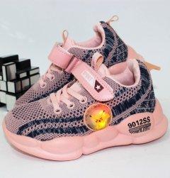 Кроссовки Alemy Kids FS2908F-LED 27 16.5см розовый
